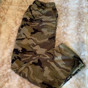 Other - Camo Fleece Sweatpants